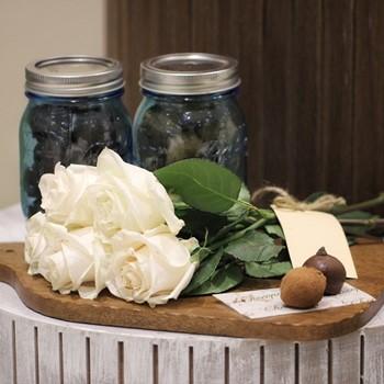 Vintage Jars & Flowers