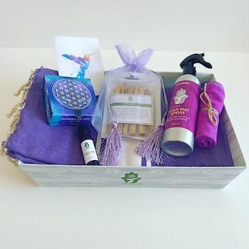 Purple Yoga Basket