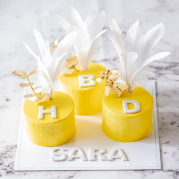Triple Mini Yellow
