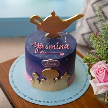 Aladdin Lamp Cake