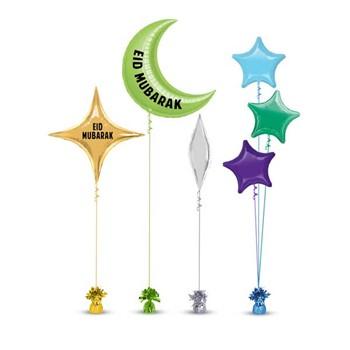 Eid Mubarak Balloons 3