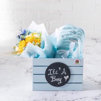 Baby Blue Basket