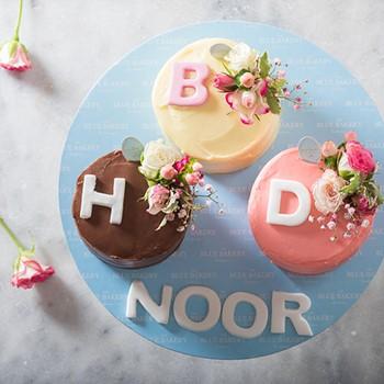 Triple HBD Mini Cakes