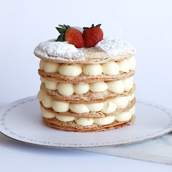 Mille Feuille Cake
