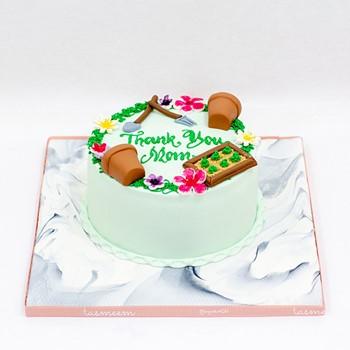 Gardener Mom Cake
