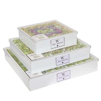 Three Layered White Tartufo Gift Box