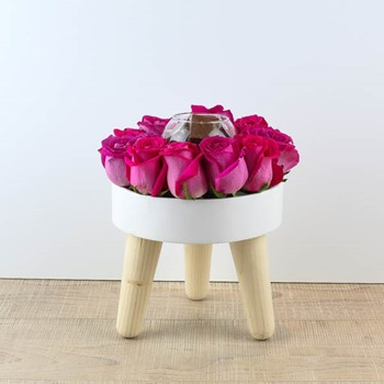 Wooden White Table 9
