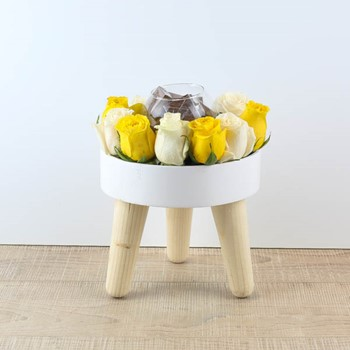 Wooden White Table 11