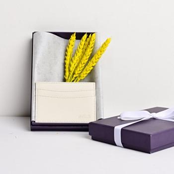 Saffiano Cardholder (White)