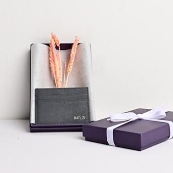 Saffiano Cardholder (Grey)