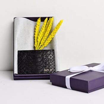 Python Cardholder (Black)