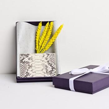 Python Cardholder (White)
