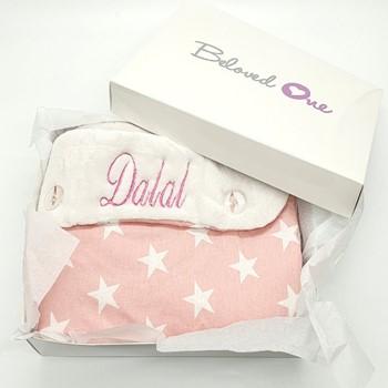 Pink Stars Sleep Bag