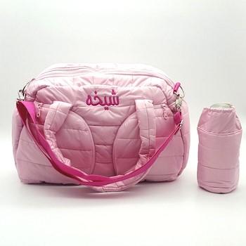 Pinky Puff Bag