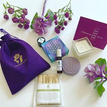 Purple Love Bag
