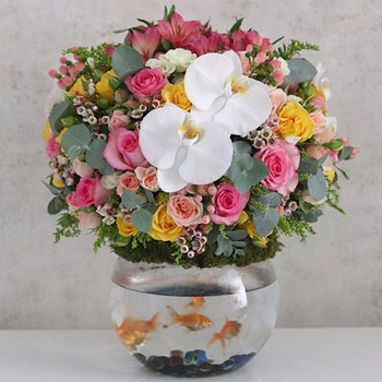 Large Flores Topper