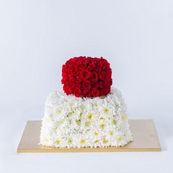 Cake Board Flowers