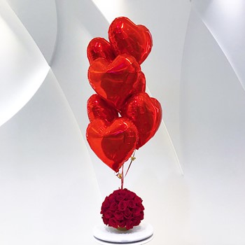 Roses And Balloons