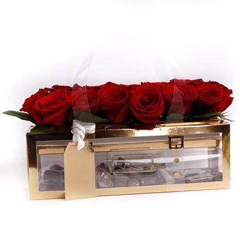 Golden Love Roses (1/2 KG)