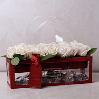 White Love Roses