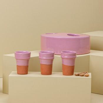 Dans La Lune Cups Pink