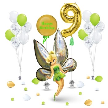 Tinkerbell Balloons Decoration