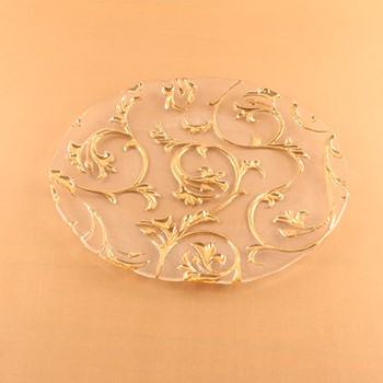 Gold Design Platter