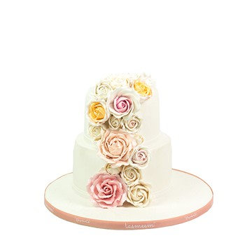 Simple Roses Cake