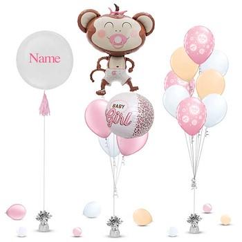 Monkey Balloon Girl