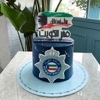 Kuwait Police Pride Cake