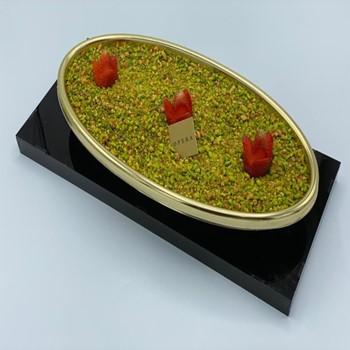 Pistachio Fruit Triffle B