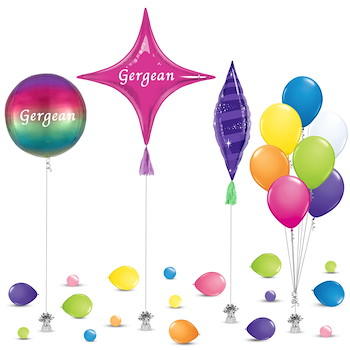 Gergean Decoration Balloon 1