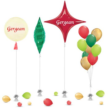 Gergean Decoration Balloon 2
