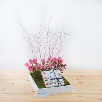 Floral Pink Garden