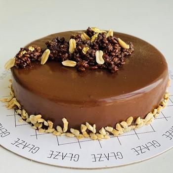 Peanut Butter Mouse Cake