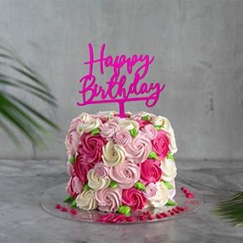 Flora Chocolate Cake