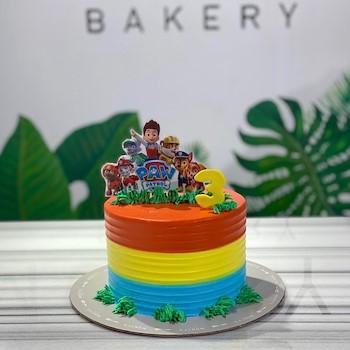 Pad Patrol Cake