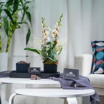 Orchid Vase IV
