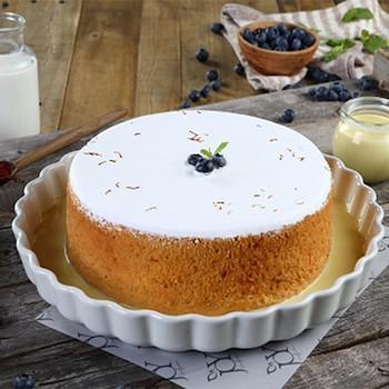 Milk Saffron Cake