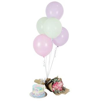 Pastel Birthday Set