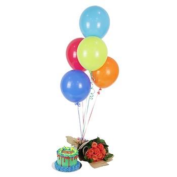 Bright Color Birthday Set