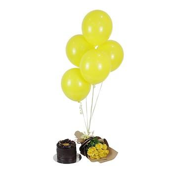 Yellow Birthday Set