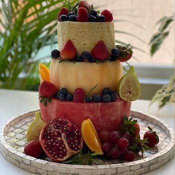 Summer Fruit Tower