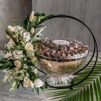 Bronze Bowl Roses