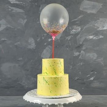 Double Baloon Cake