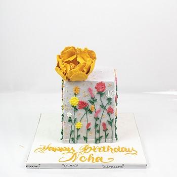 Flowery Birthday Cake I