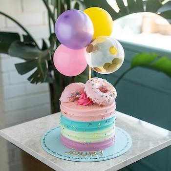Doughnut Balloon Cake