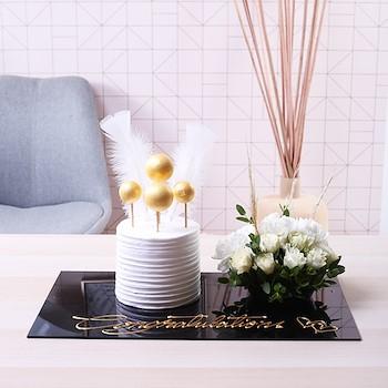 White Angel Bouquet