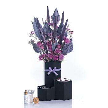 Purple & Black II
