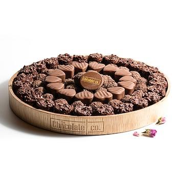 Chocolate Wood Tray